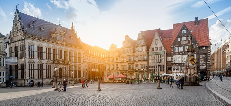 CityGames Bremen Classic Tour Marktplatz