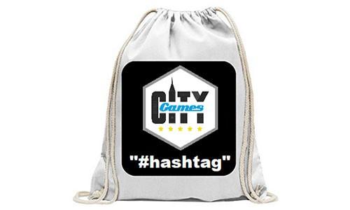 CityGames Bremen JGA Frauen Tour Backpack hashtag