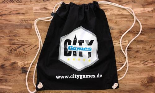 CityGames Bremen Party Sightseeing Tour Backpack Sportbeutel